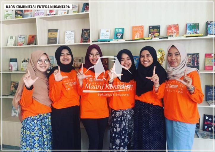 Kaos Lentera Nusantara Indonesia